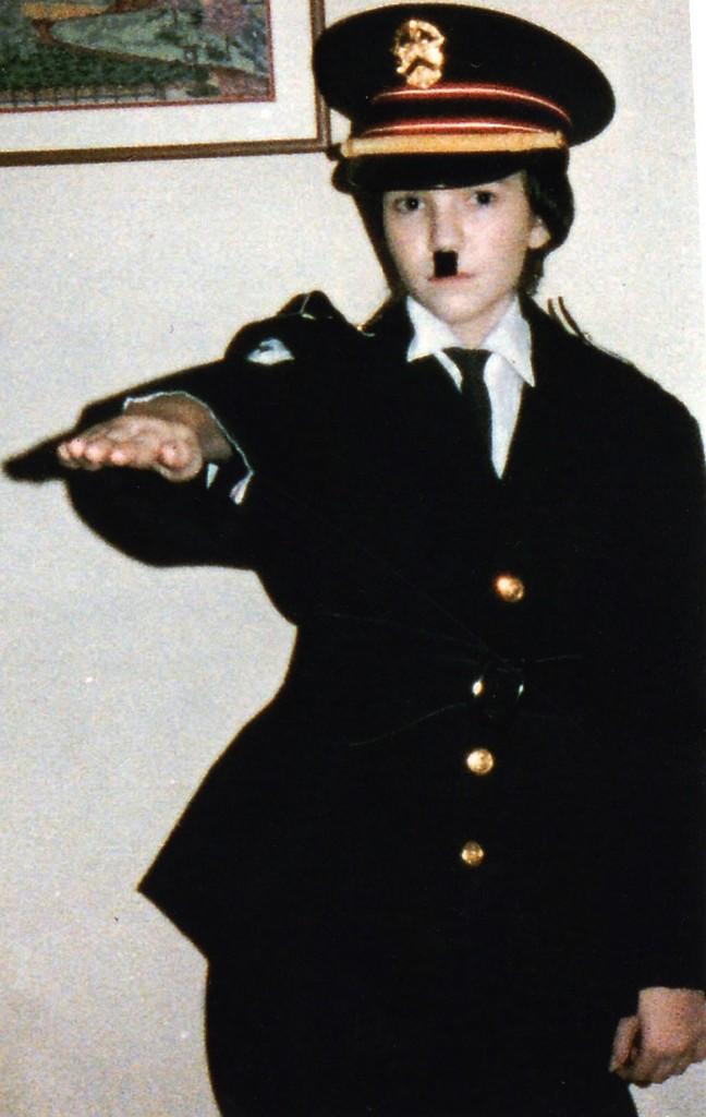 Cross-dressing as Hitler